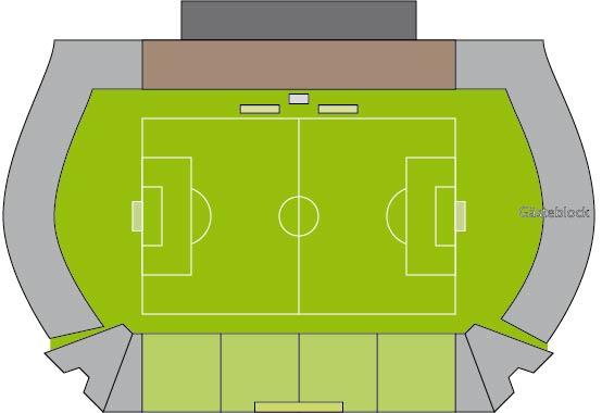 Stadionplan Bayarena